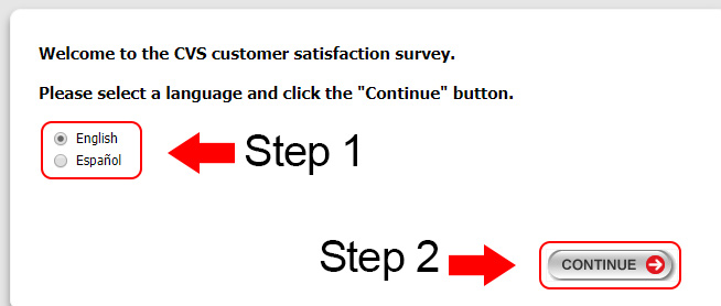 cvs survey steps 1 & 2
