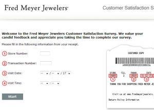 www.fmjfeedback.com Fred Meyer Jewelers Survey
