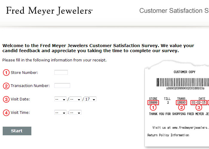 Www Fmjfeedback Com Fred Meyer Jewelers Survey Survey Login