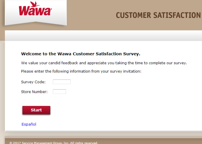 MyWawa Survey